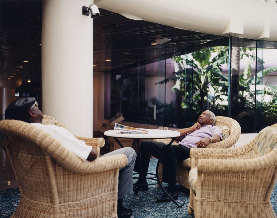 dozing-men