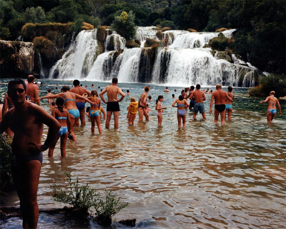 waterfall-people